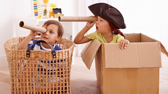 encourage imaginative play