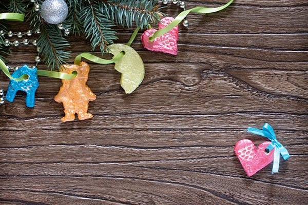 Christmas Decorations To Make In Maths : Christmas maths craft ideas for kids salt dough tree