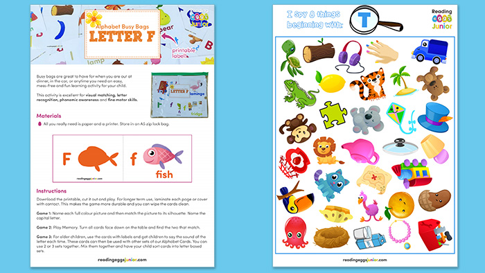 home learning worksheets