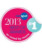 Kidspot Best of 2013 Award