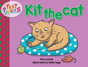 Kit the cat decodable book