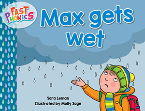 Max gets wet decodable book