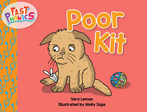 Poor Kit decodable book