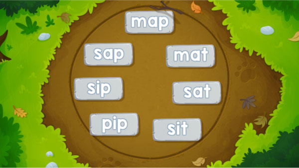 Fast Phonics Full Circle activity