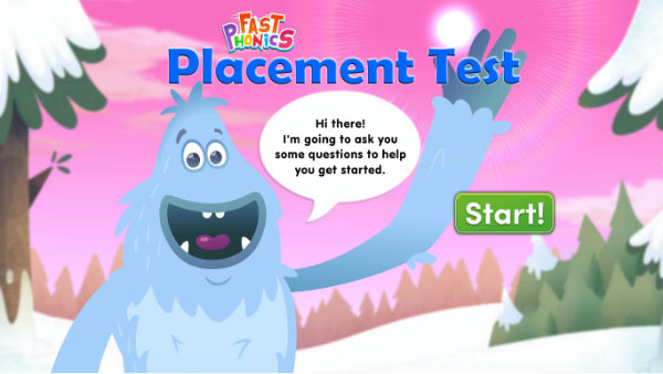 Fast Phonics placement test