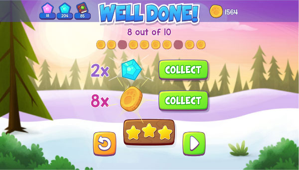 Fast Phonics well done screen