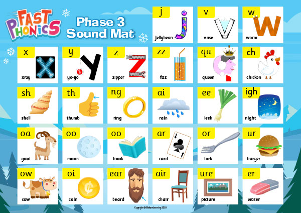Phase 3 sound mat