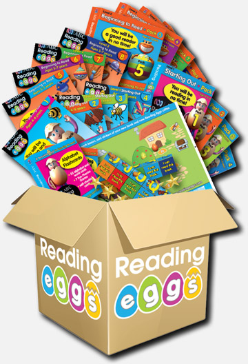 Reading Eggs Book Pack