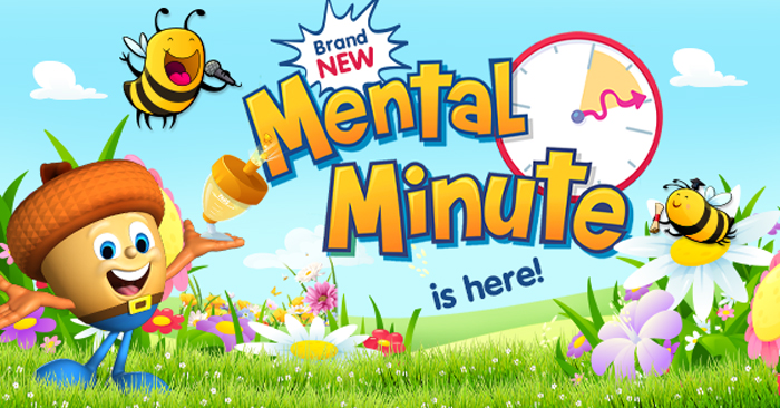 Mental Minute is here - build maths fact fluency