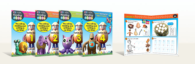 Reading Eggs Activity Books Level 1