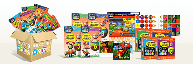 Learn to Read Reading Eggs Level 2 Book Pack