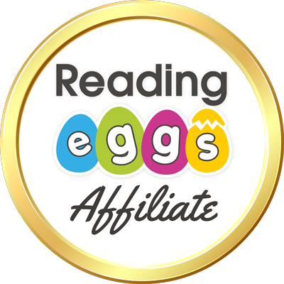 Reading Eggs affiliate badge
