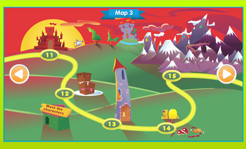 Storylands map 3