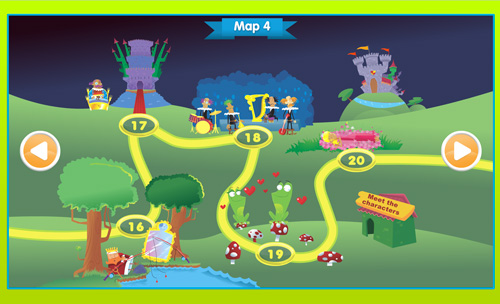 Storylands map 4