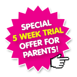 Special 5 Week Trial Offer On Now